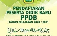 PPDB PESANTREN RAUDLATUL ULUM GUYANGAN TAHUN PELAJARAN 2020-2021