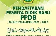 BROSUR PENERIMAAN PESERTA DIDIK BARU (PPDB) TAHUN AJARAN 2021-2022