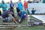 Groundbreaking Pembangunan Musholla Pesantren di Kampus 02 Pesantren Raudlatul Ulum Guyangan Trangkil Pati