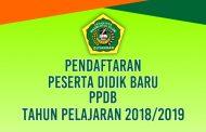 Penerimaan Peserta Didik Baru 2018/2019