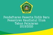 Penerimaan Peserta Didik Baru Tahun Pelajaran 2019/2020